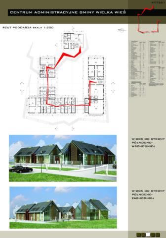 Projekt Centrum Administracyjne Wielka Wieś