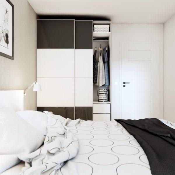 Projekt sypialni Kraków