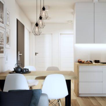 Projekt mieszkania Kraków