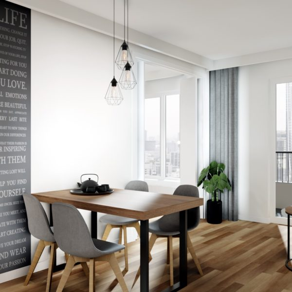 Białe mieszkanie